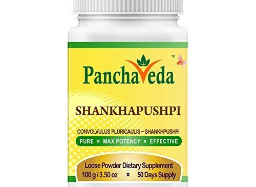 Panchaveda Shankhapushpi Powder Organic, ...