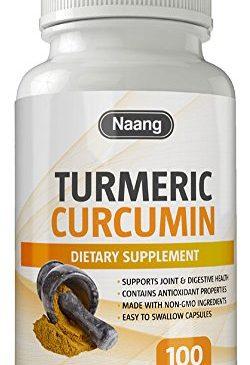 Turmeric Curcumin Supplement 400mg of 95% ...