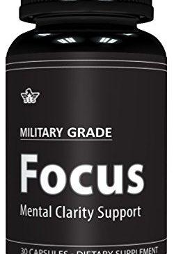 Focus Formula (30 Capsules) Military Grade – ...