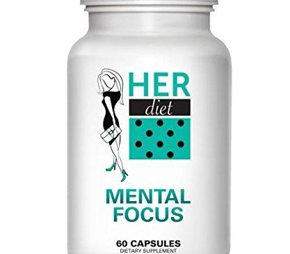 HERdiet Mental Focus for Women Extra Strength ...