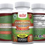 Organic INDIA Ashwagandha Capsules with Black ...