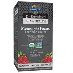 Garden of Life Dr. Formulated Organic Brain Health ...