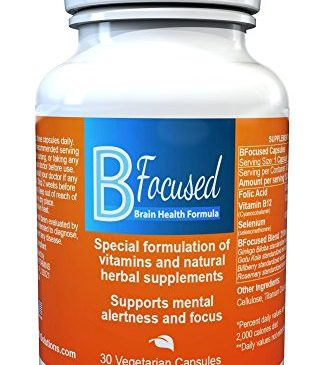 Bfocused Brain Booster – Powerful Focus ...