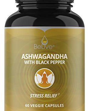 Organic Ashwagandha Capsules – 1300mg Extra ...