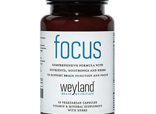 Focus Support Supplement with Vitamins, Minerals ...