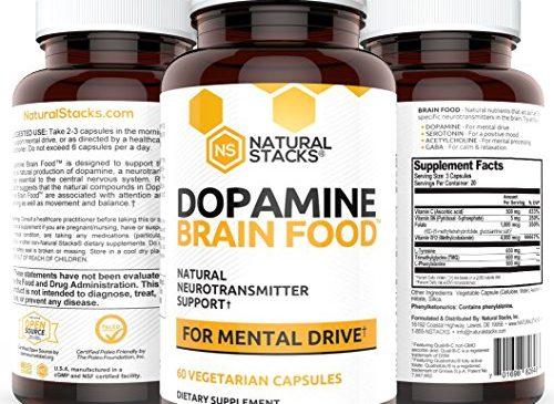 Dopamine Brain Food Supplement – All Natural ...