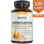 Ashwagandha 1300mg Made with Organic Ashwagandha ...