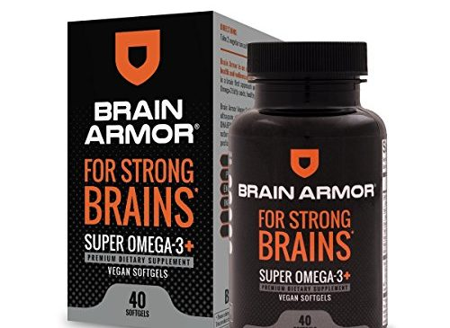 Brain Armor – Super Omega 3 Vegan Softgel, ...
