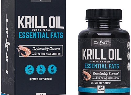 Onnit Krill Oil – 1000mg Extra Strength ...