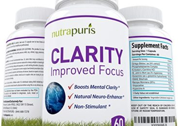 Nutrapuris CLARITY Best Brain Supplement – ...