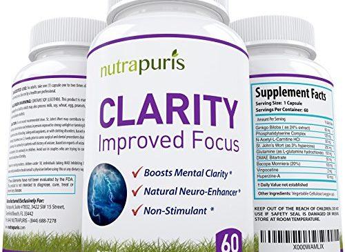 Nutrapuris CLARITY Best Brain Supplement – ...