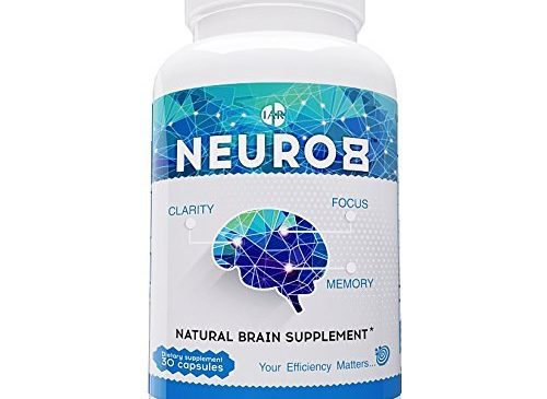 Natural Brain Booster Supplement for Focus, ...