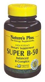 Natures Plus Super B50-180 Vegetarian Capsules ...