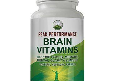 Peak Performance Brain Vitamins. Powerful ...