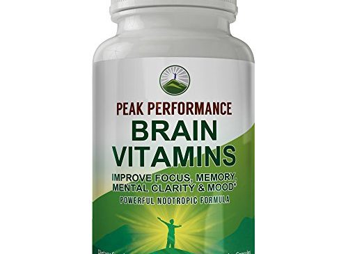 Peak Performance Brain Vitamins. Powerful ...
