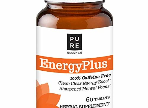 Pure Essence Labs Energy Plus, Caffeine Free, All ...