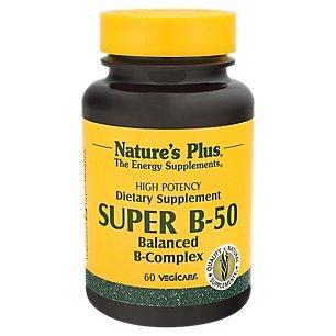 Natures Plus Super B50-60 Vegetarian Capsules ...