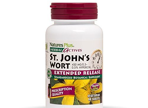 Natures Plus Herbal Actives St John's Wort ...