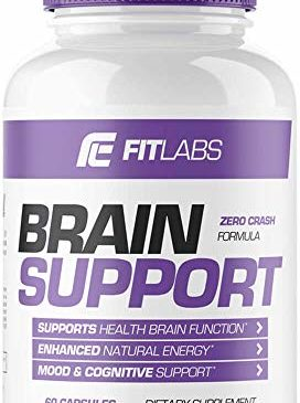 Brain Support Supplement by Fit Labs, Boosts ...