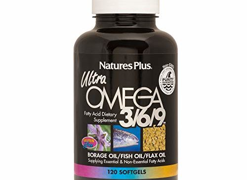 Natures Plus Ultra Omega 3 6 9-1200 mg, 120 ...