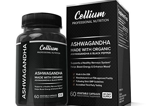 Ashwagandha Capsules for a All Natural CALM, ...