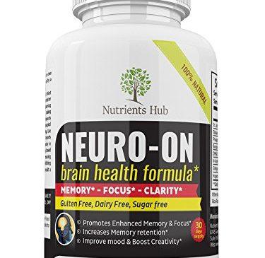 Premium Brain Supplement Improve Focus, Clarity, ...