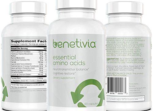 Benetivia Essential Amino Acids – Brain ...