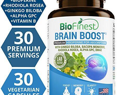 Biofinest Advanced Brain Booster Supplement ...