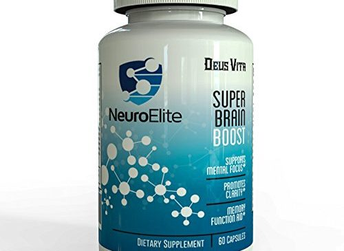 Extra Strength Natural Brain Supplement for Focus, ...